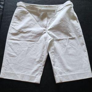 RAFAELLA PETITE WHITE SHORTS
